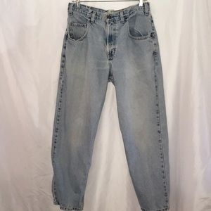 Vtg Hip Hop 90s GAP Baggy Fit 33x30 lt wash jeans